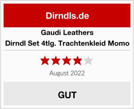 Gaudi Leathers Dirndl Set 4tlg. Trachtenkleid Momo Test