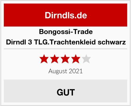 Bongossi-Trade Dirndl 3 TLG.Trachtenkleid schwarz Test