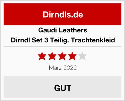 Gaudi Leathers Dirndl Set 3 Teilig. Trachtenkleid Test