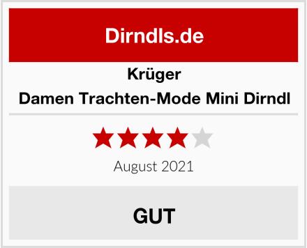 Krüger Damen Trachten-Mode Mini Dirndl Test