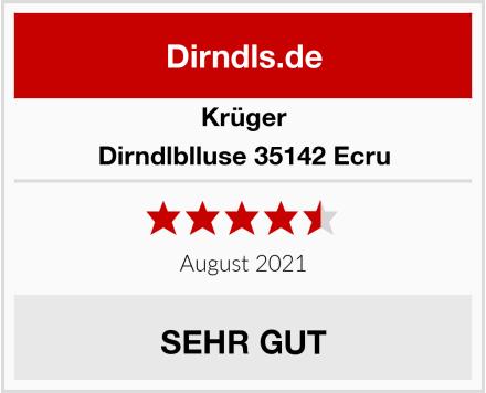 Krüger Dirndlblluse 35142 Ecru Test