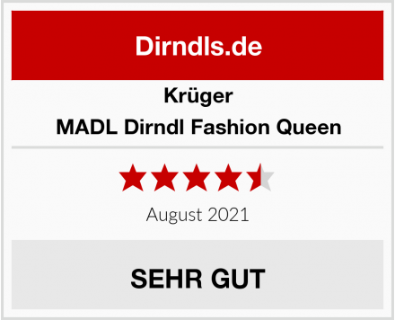 Krüger Dirndl MADL Dirndl Fashion Queen Test