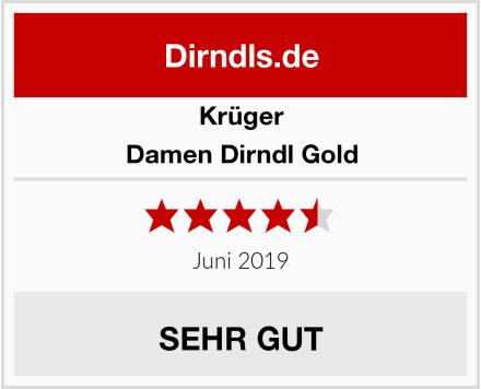 Krüger Damen Dirndl Gold Test