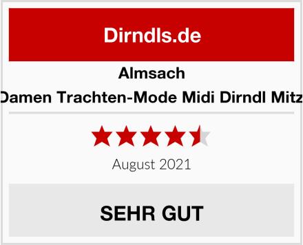 Almsach Damen Trachten-Mode Midi Dirndl Mitzi Test