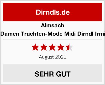 Almsach Damen Trachten-Mode Midi Dirndl Irmi Test