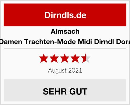 Almsach Damen Trachten-Mode Midi Dirndl Dora Test