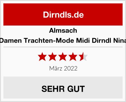 Almsach Damen Trachten-Mode Midi Dirndl Nina Test