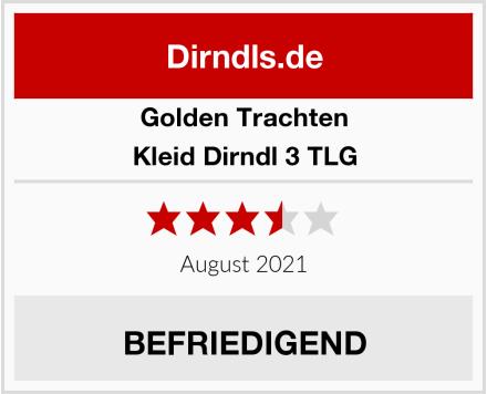 Golden Trachten Kleid Dirndl 3 TLG Test
