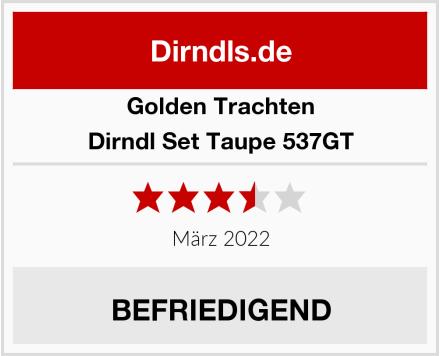 Golden Trachten Dirndl Set Taupe 537GT Test