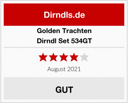 Golden Trachten Dirndl Set 534GT Test