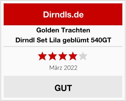 Golden Trachten Dirndl Set Lila geblümt 540GT Test