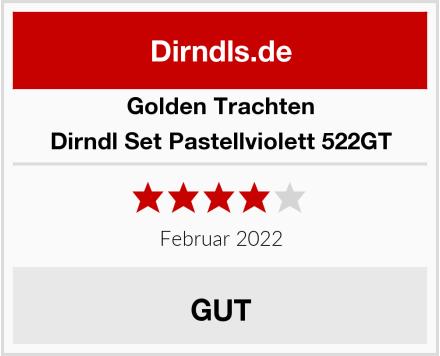 Golden Trachten Dirndl Set Pastellviolett 522GT Test