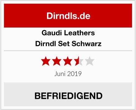 Gaudi-Leathers Dirndl Set Schwarz Test