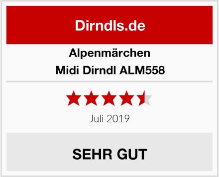 Alpenmärchen Midi Dirndl ALM558 Test