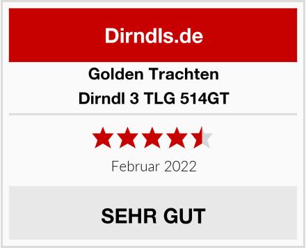 Golden Trachten Dirndl 3 TLG 514GT Test