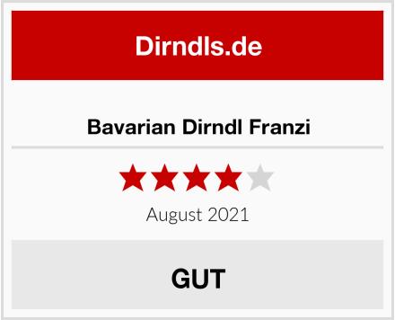Bavarian Dirndl Franzi Test