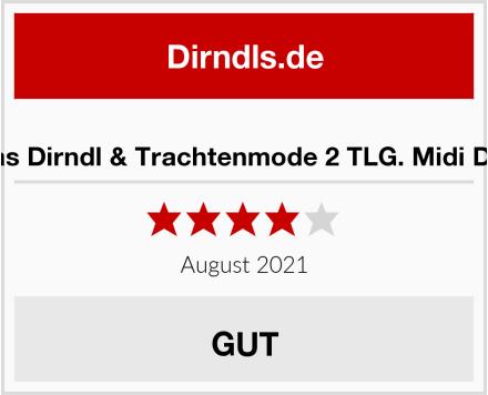 Lukas Dirndl & Trachtenmode 2 TLG. Midi Dirndl Test