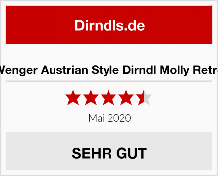 Wenger Austrian Style Dirndl Molly Retro Test