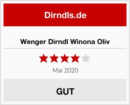 Wenger Dirndl Winona Oliv Test