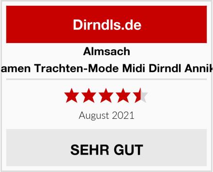 Almsach Damen Trachten-Mode Midi Dirndl Annika Test