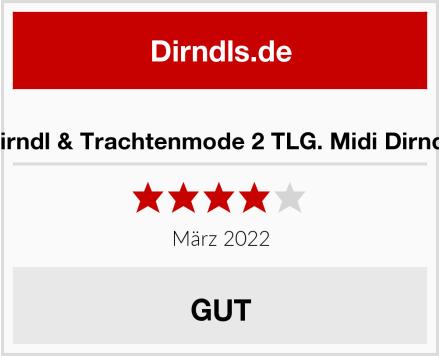 No Name Lukas Dirndl & Trachtenmode 2 TLG. Midi Dirndl Test
