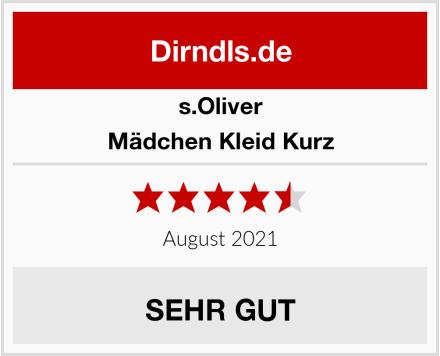 s.Oliver Mädchen Kleid Kurz Test