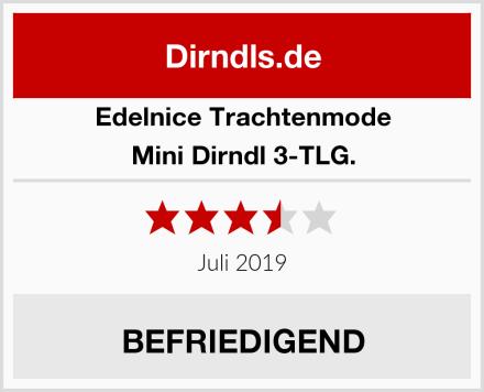 Edelnice Trachtenmode Mini Dirndl 3-TLG. Test