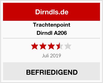 Trachtenpoint Dirndl A206 Test
