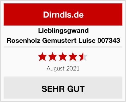 Lieblingsgwand Rosenholz Gemustert Luise 007343 Test