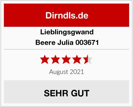 Lieblingsgwand Beere Julia 003671 Test