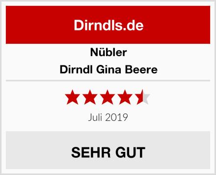 Nübler Dirndl Gina Beere Test