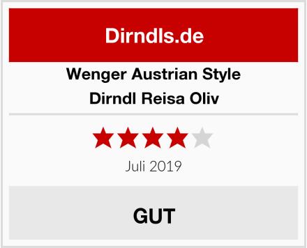 Wenger Austrian Style Dirndl Reisa Oliv Test