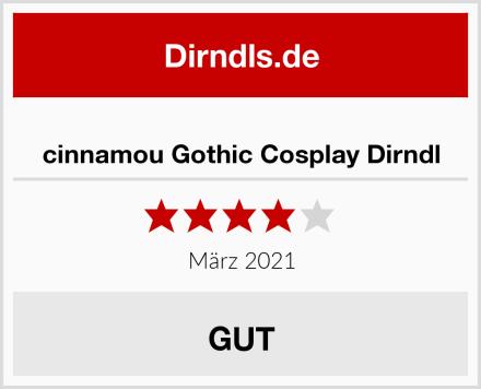 cinnamou Gothic Cosplay Dirndl Test
