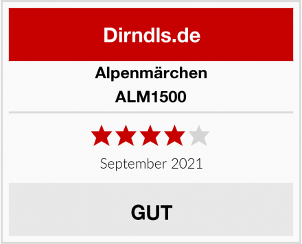 Alpenmärchen ALM1500 Test