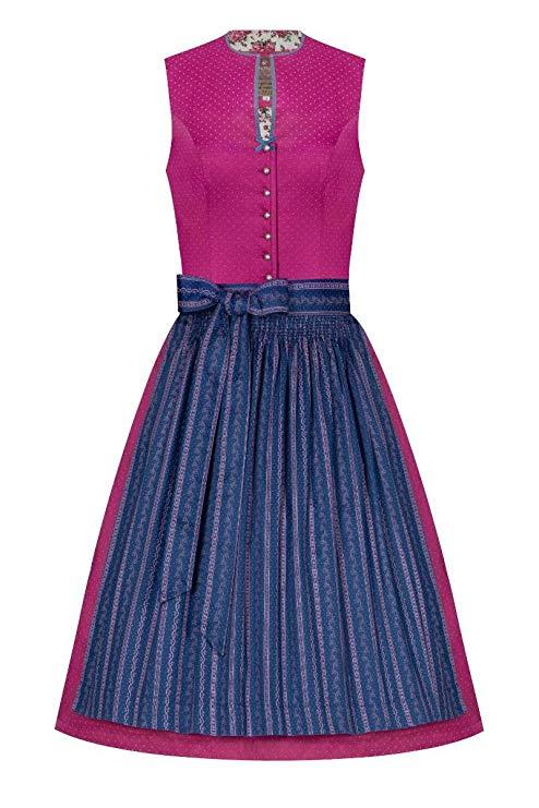 Lieblingsgwand Pink Blau Emilia 005258