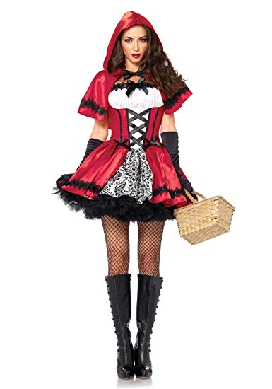 No Name LEG AVENUE 85230 - 2Tl. Kostüm Set Gothic Riding Hood