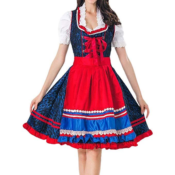 No Name Ncenglings Oktoberfest Dienstmädchen Kostüm