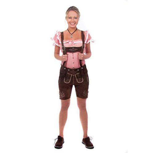 Edelnice Trachtenmode Kurze Damen Trachten Lederhose