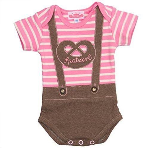 Bavariashop Baby-Body Lederhose Spatzerl