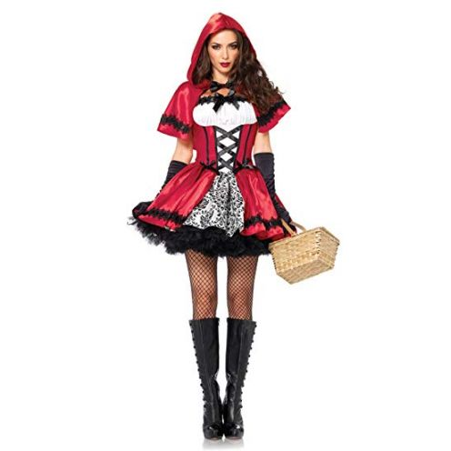 LEG AVENUE 85230 - 2Tl. Kostüm Set Gothic Riding Hood
