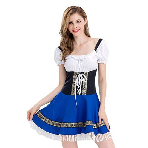 VEMOW Damen Kostüm