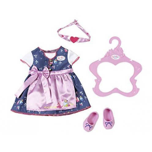 Zapf Creation 824504 Baby Born Dirndl