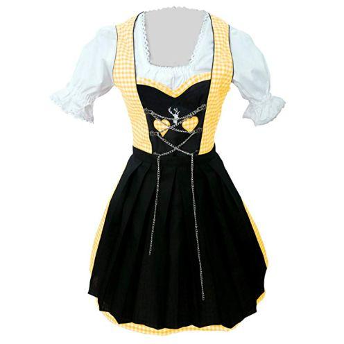 Seruna Dirndl Dirndl Vdi08 Dirndl (schwarz/gelb)